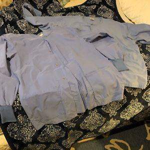2 scrub jacket medium